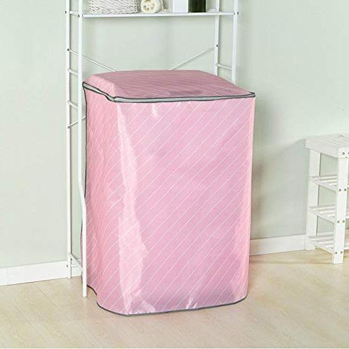 Washing Non Woven Machine Dryer Cover Zippered Roller Dustproof Waterproof Home Organizer - Loader Top Tubs Protection The For