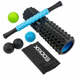 Massage Ball Foam Roller Kit – 5 in 1 Deep Tissue Physical