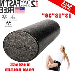 Massage Foam Roller Back Muscle Self Rumble Massager Exercis