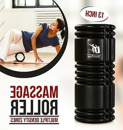Massage Foam Roller - 13 Inches - EVA Foam Filled Interior -