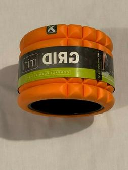 Mini Compact Foam Roller Handheld Grid Pattern Exercise Fitn
