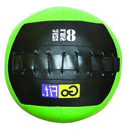 GoFit Mini CrossFit-Style Vinyl Wall/Medicine Ball with Manu