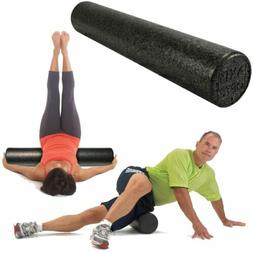 OPTP Black AXIS Firm FOAM ROLLER - Stretch, Pilates, Therapy