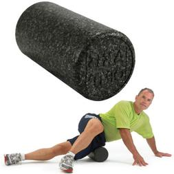OPTP Black AXIS Firm High Density Foam Roller Yoga, Stretch,