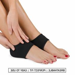 Plantar Fasciitis Foot Arch Support Wrap & Roller Breathable