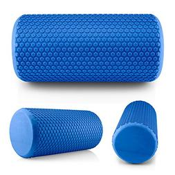Gearonic Portable Drink EVA Yoga Grid Foam Roller Massage Gy