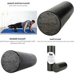 PRO Foam Roller For Physical Therapy & Exercise Firm High De
