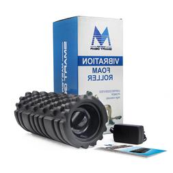 rechargeable electric vibrating foam roller with carry