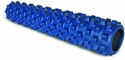 "RUMBLEROLLER BLUE ORIGINAL Rumble Roller 31"" x 6"" LARGE Foam"