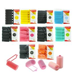 SOFT FOAM CUSHION HAIR ROLLERS,CURLERS HAIR CARE STYLING 5 S