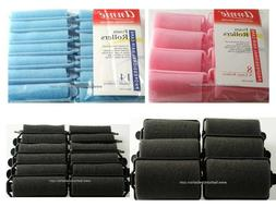 SOFT FOAM CUSHION HAIR ROLLERS,CURLERS HAIR CARE,STYLING 5 S