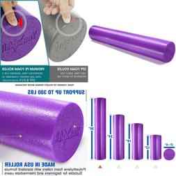 "Yes4all Soft Foam Roller 12 18 24 & 36"" Multi Color PURPLE 3"