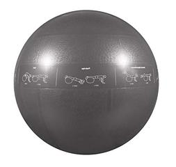 GoFit Professional Grade Stability Ball - Home Workout Suppl