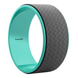 "Reehut Yoga Wheel - 12.6"" x 5"" Strong Premium Back Roller an"