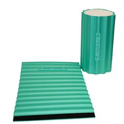 Thera-Band foam roller wraps, green