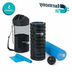 Trigger Point Foam Roller set - 2-in-1 with Outer High Densi