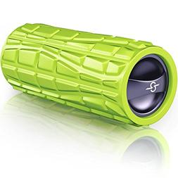 Vibrating Foam Massage Roller - Rechargeable Electric Exerci