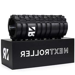NextRoller 3-Speed Vibrating Foam Roller - High Intensity Vi