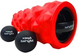 Vibrating Foam Roller High Intensity 3 Speed RECHARGEABLE wi