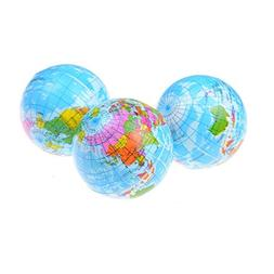 PomPomHome World Map Foam Earth Educational Toy Anti Stress