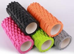 Yoga Foam Roller Back Muscle Rollers Stick Massage Balls Tri