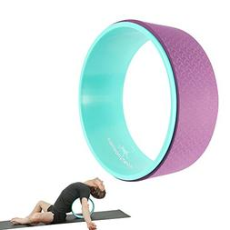 Yoga Wheel Roller - Dharma Tool for Back Pain Relief, Hip &